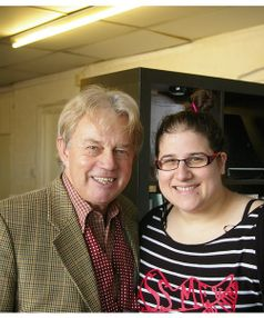 Frazer Hines and I